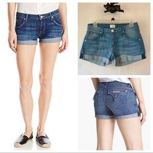 Hudson Hampton Cuffed Short Short Jean 28